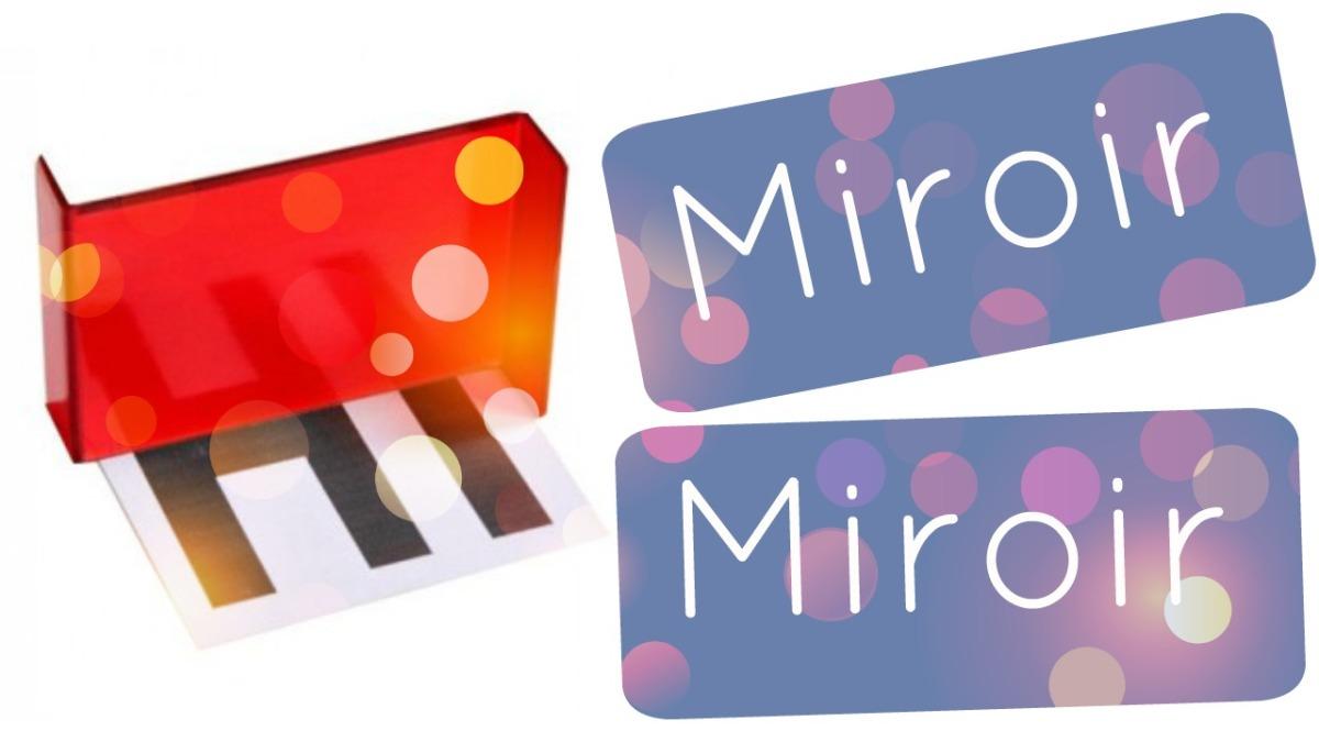 Minature miroir